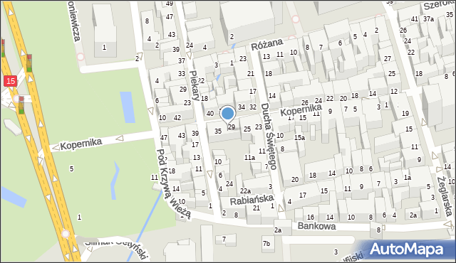 Toruń, Kopernika Mikołaja, 31, mapa Torunia