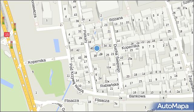 Toruń, Kopernika Mikołaja, 33, mapa Torunia