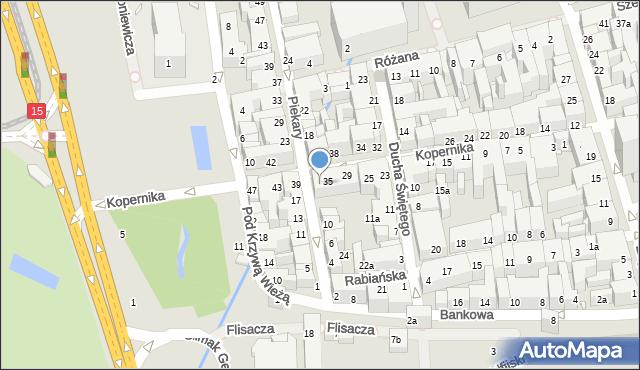 Toruń, Kopernika Mikołaja, 37, mapa Torunia