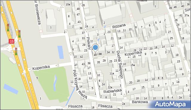 Toruń, Kopernika Mikołaja, 40, mapa Torunia