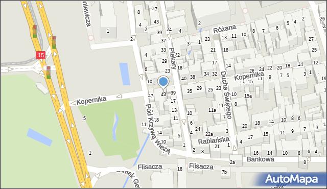 Toruń, Kopernika Mikołaja, 43, mapa Torunia