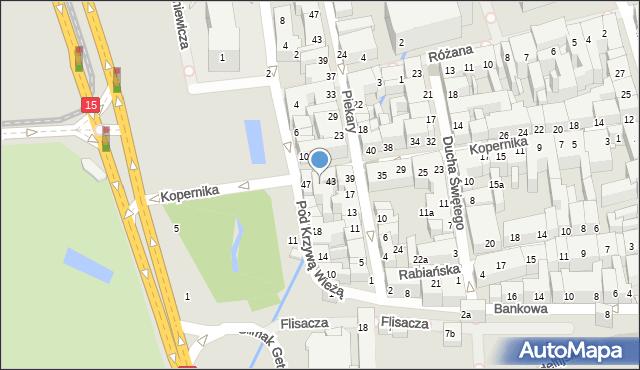 Toruń, Kopernika Mikołaja, 45, mapa Torunia