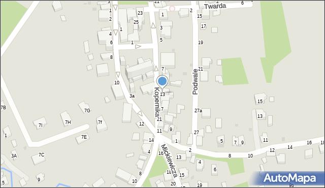 Tyczyn, Kopernika Mikołaja, 13, mapa Tyczyn