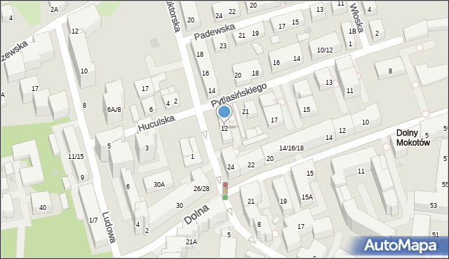 Warszawa, Konduktorska, 12, mapa Warszawy