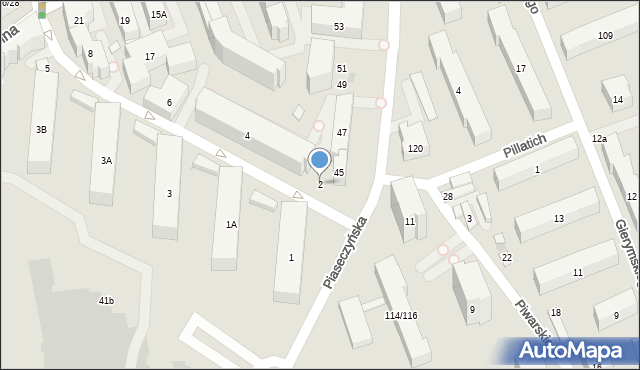 Warszawa, Konduktorska, 2, mapa Warszawy
