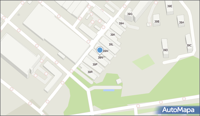 Warszawa, Komitetu Obrony Robotników, 39N, mapa Warszawy