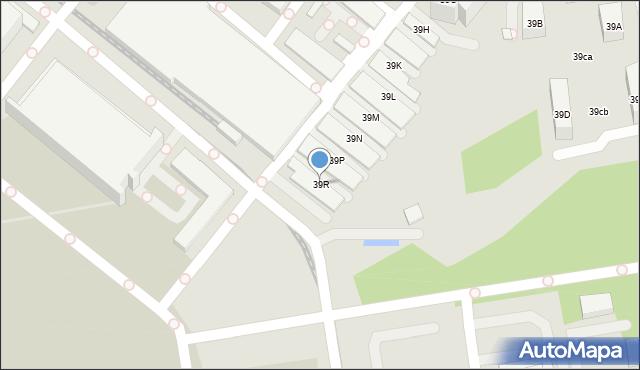Warszawa, Komitetu Obrony Robotników, 39R, mapa Warszawy