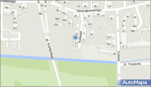 Zabrze, Kołłątaja Hugo, 5, mapa Zabrza