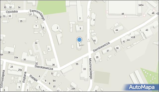 Zabrze, Konopnickiej Marii, 7, mapa Zabrza