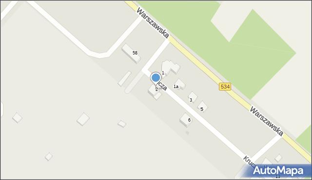 Grudziądz, Krucza, 2, mapa Grudziądza