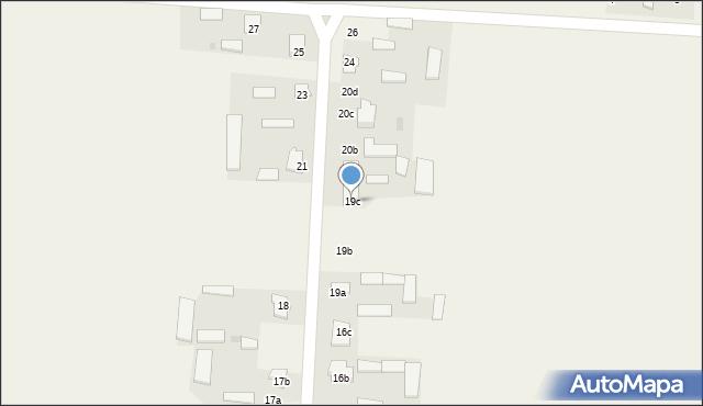 Krzywice, Krzywice, 19c, mapa Krzywice