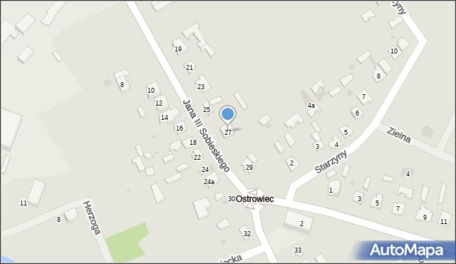 Lubaczów, Króla Jana III Sobieskiego, 27, mapa Lubaczów