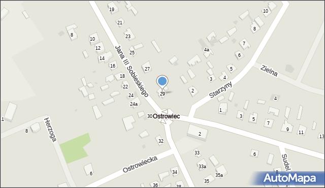 Lubaczów, Króla Jana III Sobieskiego, 29, mapa Lubaczów