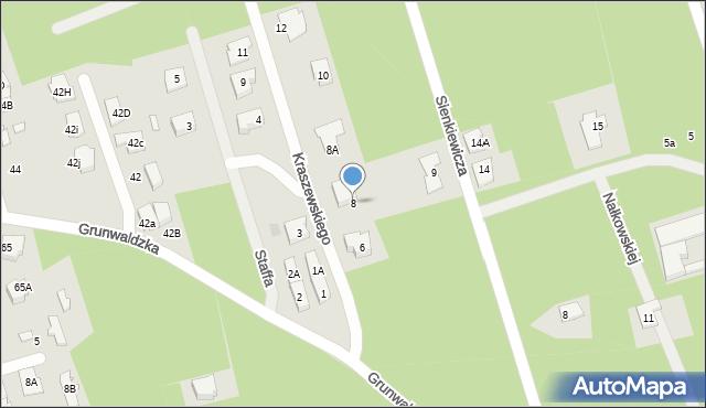 Marki, Kraszewskiego Józefa Ignacego, 8, mapa Marki