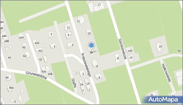 Marki, Kraszewskiego Józefa Ignacego, 8A, mapa Marki
