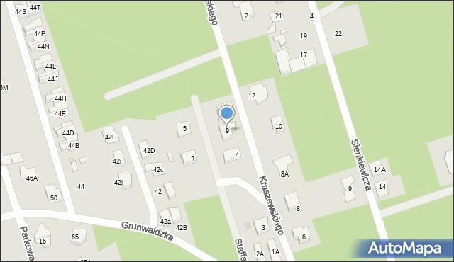 Marki, Kraszewskiego Józefa Ignacego, 9, mapa Marki