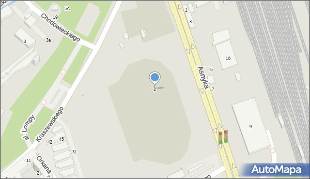Nysa, Kraszewskiego Józefa Ignacego, 2, mapa Nysy