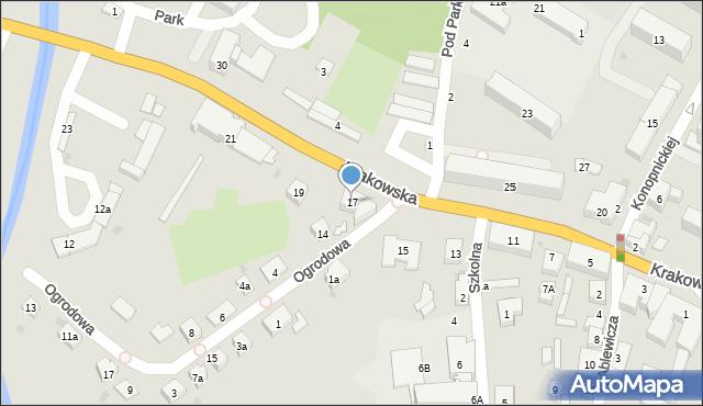 Przeworsk, Krakowska, 17, mapa Przeworsk