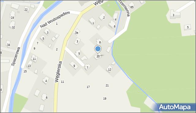 Rymanów-Zdrój, Krzemienna, 10, mapa Rymanów-Zdrój