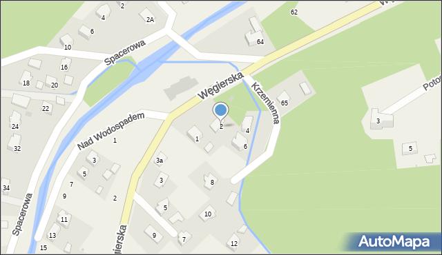 Rymanów-Zdrój, Krzemienna, 2, mapa Rymanów-Zdrój