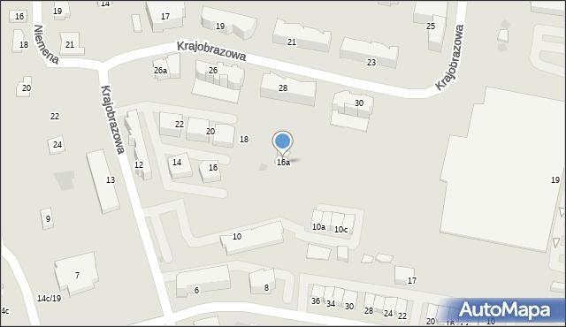 Rzeszów, Krajobrazowa, 16a, mapa Rzeszów