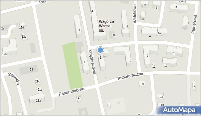 Rzeszów, Krajobrazowa, 2, mapa Rzeszów