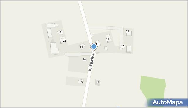 Sychowo, Królewska, 12, mapa Sychowo