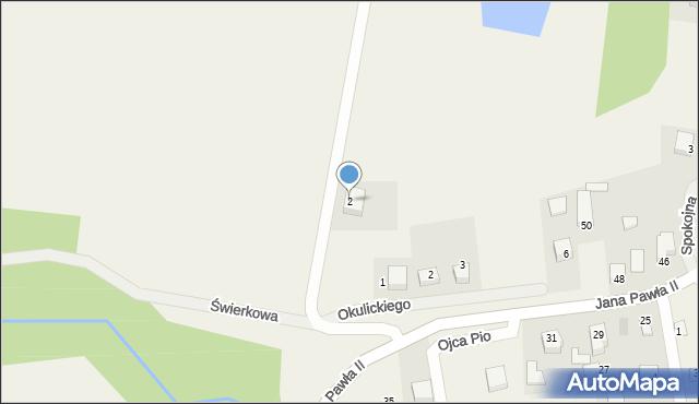 Sychowo, Królewska, 2, mapa Sychowo