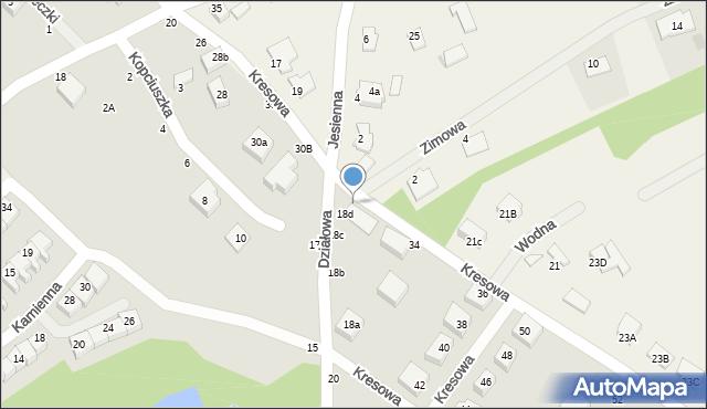 Toruń, Kresowa, 32, mapa Torunia