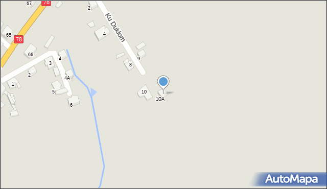 Bytom, Ku Duklom, 11, mapa Bytomia