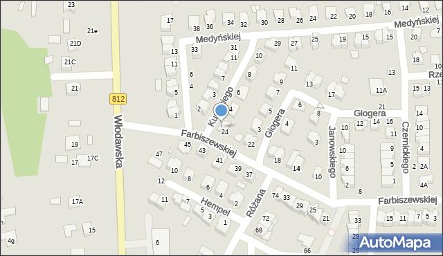 Chełm, Kunickiego Leona, 2, mapa Chełma