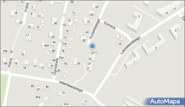 Chełm, Kurpińskiego Karola, 17, mapa Chełma