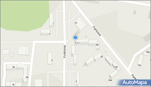 Grudziądz, Kustronia Józefa, gen., 1, mapa Grudziądza