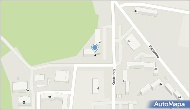 Grudziądz, Kustronia Józefa, gen., 4, mapa Grudziądza
