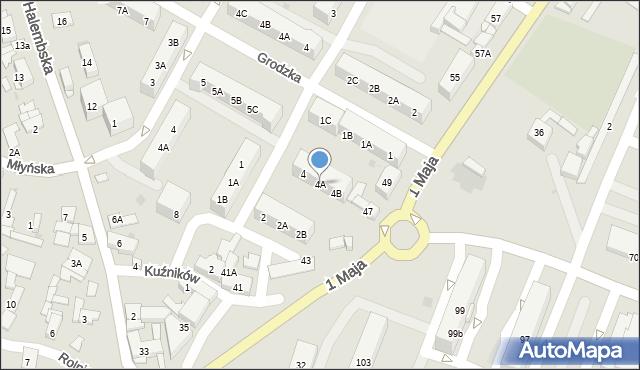 Ruda Śląska, Kukuczki Jerzego, 4A, mapa Rudy Śląskiej
