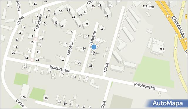 Bytom, Łączna, 19, mapa Bytomia