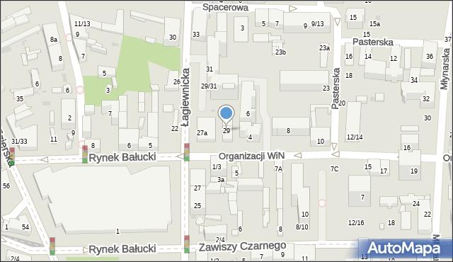 Łódź, Łagiewnicka, 29, mapa Łodzi