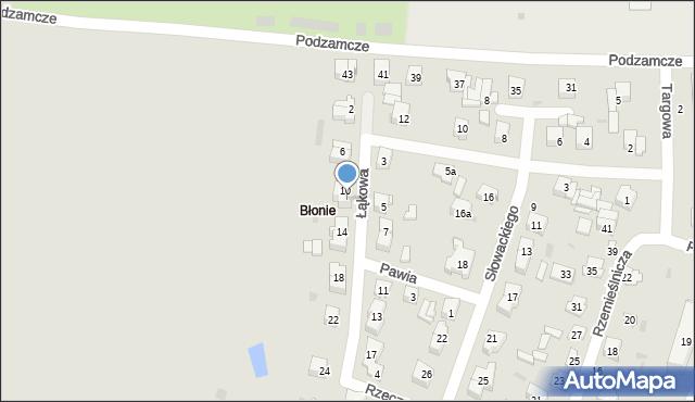 Opole Lubelskie, Łąkowa, 12, mapa Opole Lubelskie