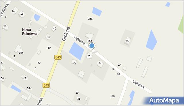 Pokrówka, Łąkowa, 2, mapa Pokrówka