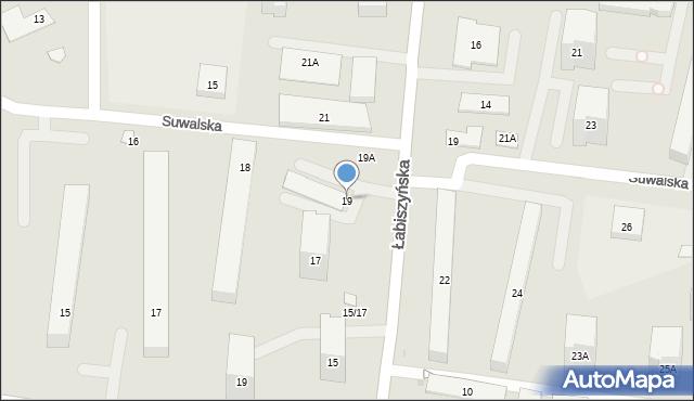Warszawa, Łabiszyńska, 19, mapa Warszawy