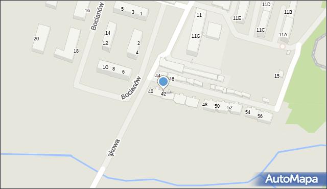 Zabrze, Łąkowa, 42, mapa Zabrza