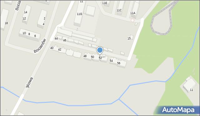 Zabrze, Łąkowa, 52, mapa Zabrza