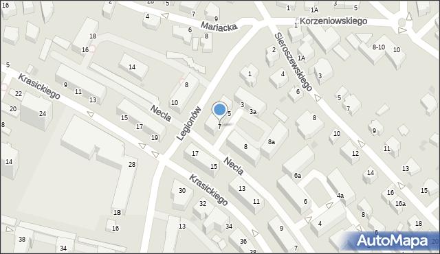 Gdynia, Legionów, 9, mapa Gdyni