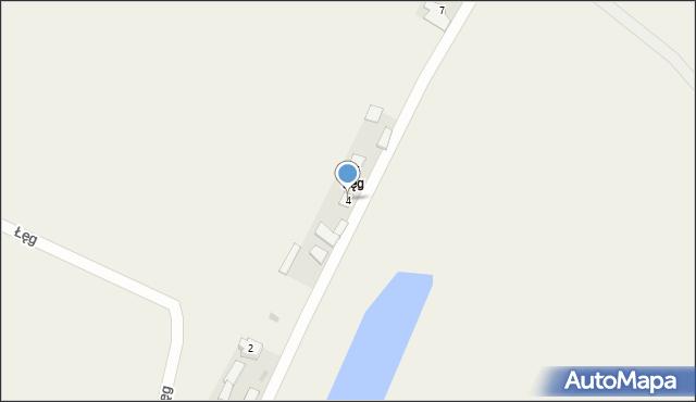 Łęg, Łęg, 4, mapa Łęg