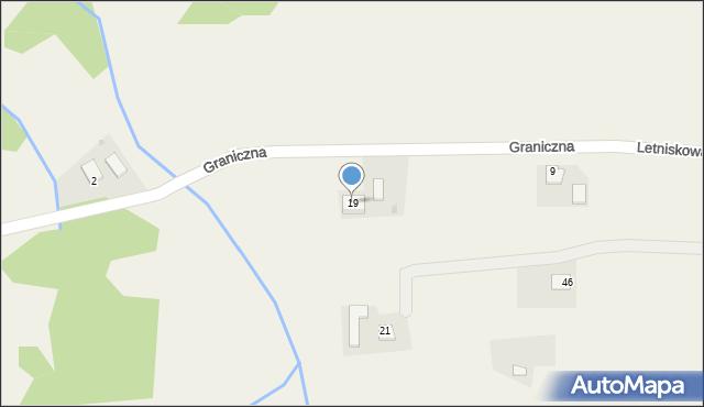 Łowiczki, Letniskowa, 19, mapa Łowiczki