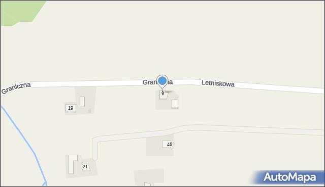 Łowiczki, Letniskowa, 9, mapa Łowiczki