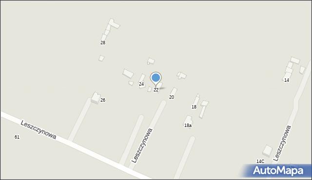 Poręba, Leszczynowa, 22, mapa Poręba