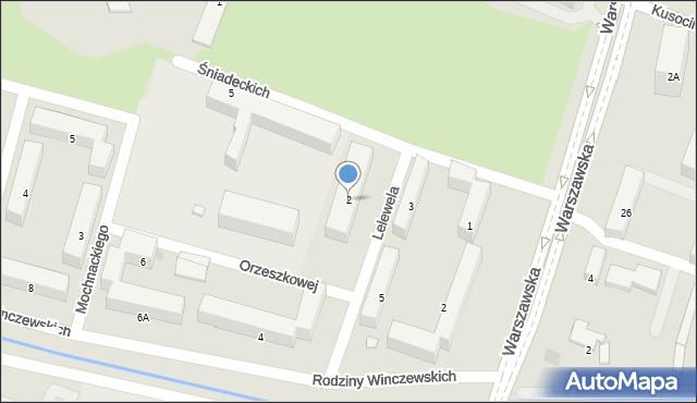 Radom, Lelewela Joachima, 2, mapa Radomia