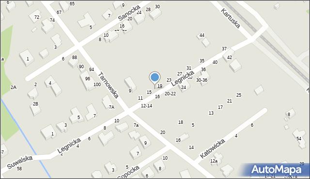 Toruń, Legnicka, 17, mapa Torunia
