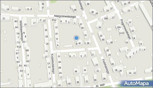 Warszawa, Lechonia Jana, 6, mapa Warszawy